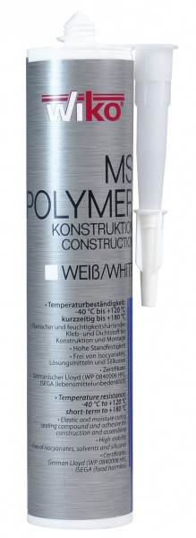 MS POLYMER CONSTRUCTION WHITE